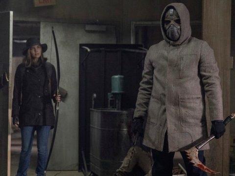 The Walking Dead : on sait enfin qui se cache sous le masque du guerrier qui accompagne Maggie