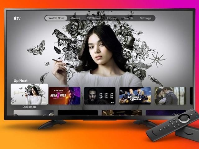 Apple propose l'application Apple TV sur les Fire TV d'Amazon
