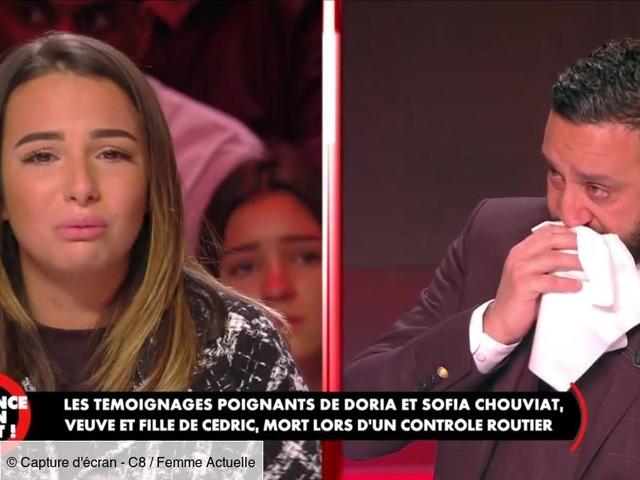 Vidéo - Cyril Hanouna en larmes face au témoignage bouleversant de Sofia, la fille de Cédric Chouviat, mort lors d'un contrôle de police