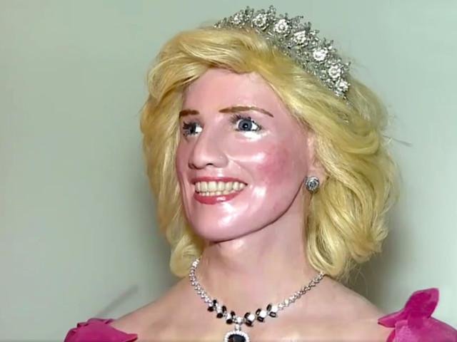 Cette statue de cire complètement ratée de la princesse Diana est terrifiante