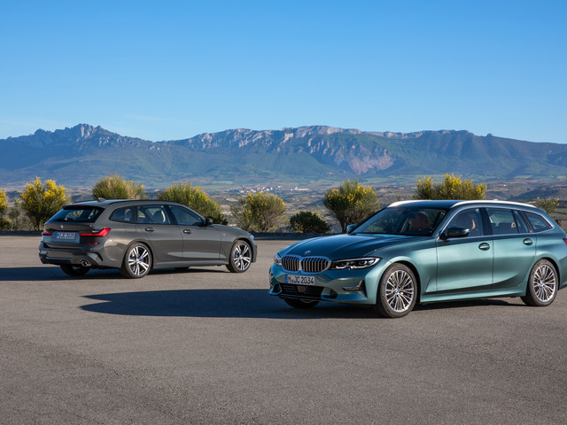 La nouvelle BMW Série 3 Touring, les photos de ce break en finition Luxury Line