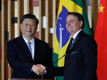 """""""La Chine fait de plus en plus partie de l'avenir du Brésil"""", dit Bolsonaro"""