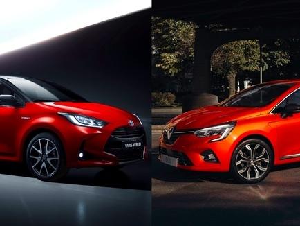 Les matchs de 2020 - Nouvelle Toyota Yaris vs Renault Clio 5