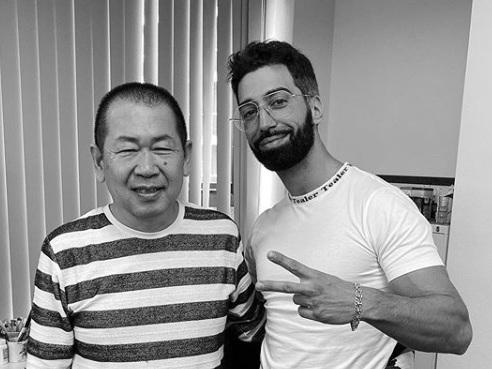 Quand Ademo rencontre le créateur du jeu-vidéo Shenmue [Photos]