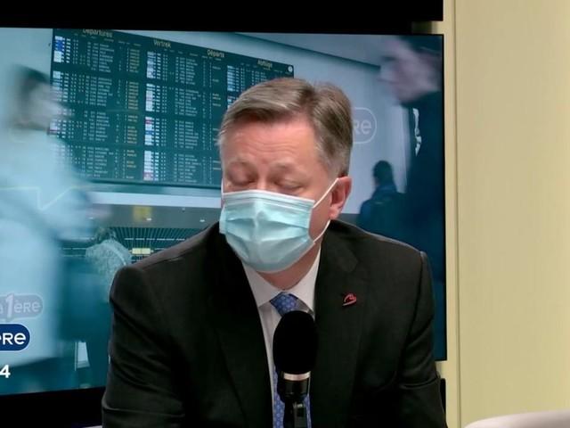 """Arnaud Feist, CEO de Brussels Airport : """"Nous demandons de lever l'interdiction des voyages non essentiels"""""""