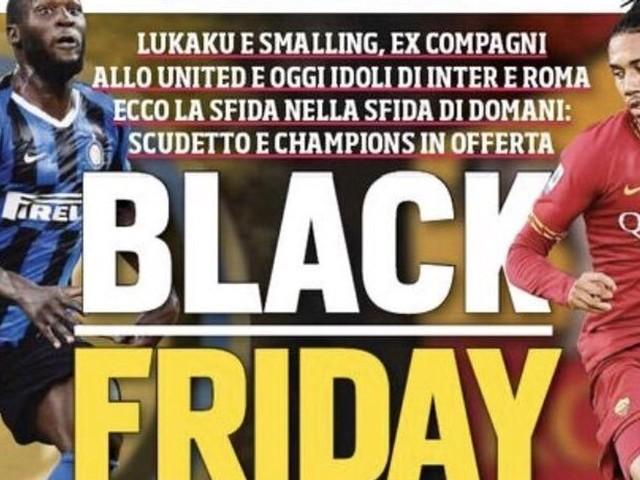 Le Corriere dello Sport fait un jeu de mots à sa Une