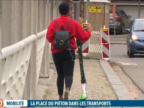 Entre vélos et trottinettes électriques, les piétons ont de plus en plus de mal à trouver leur place