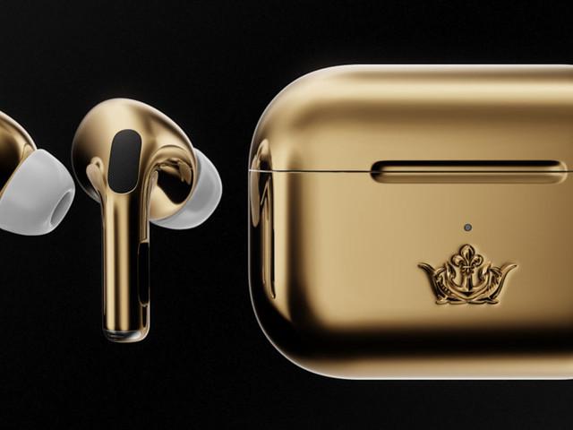 AirPods Pro by Caviar: des écouteurs en or (littéralement)