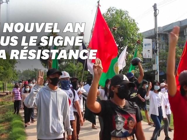 """En Birmanie, un Nouvel an bouddhiste """"révolutionnaire"""" contre la junte"""