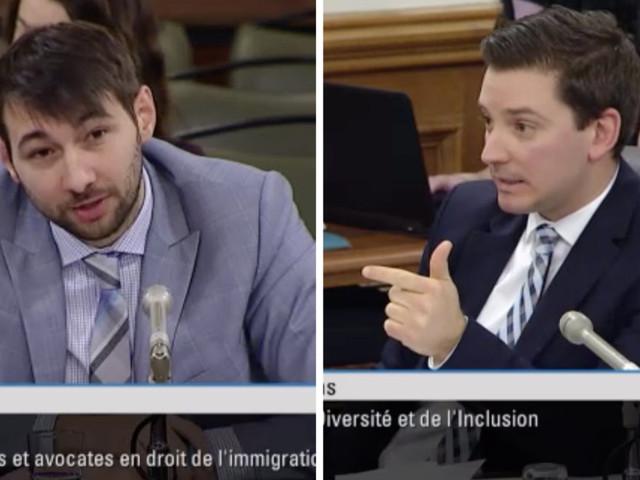 Projet de loi 9: affrontement entre Simon Jolin-Barrette et Guillaume Cliche-Rivard