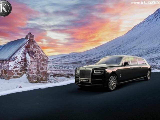 Une Rolls-Royce Phantom de 7 mètres facturée 3 millions d'euros