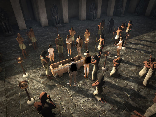 Pourquoi la visite de la pyramide de Khéops en réalité virtuelle vaut le coup d'œil