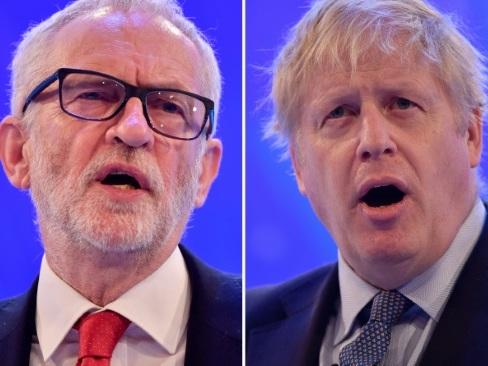 Elections britanniques: premier face-à-face entre Johnson et Corbyn