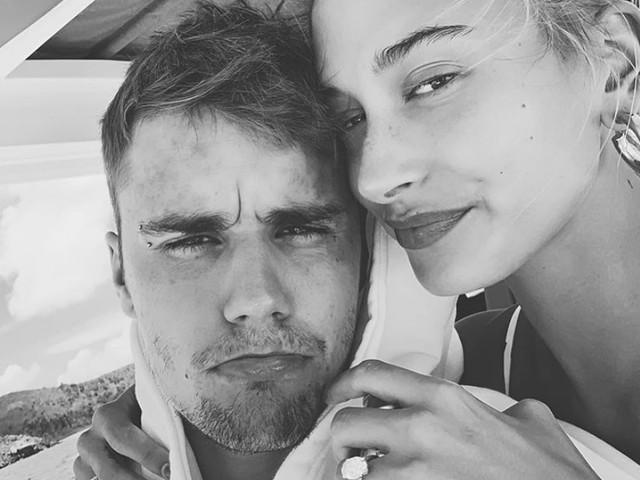 Justin Bieber et Hailey Baldwin : Un Thanksgiving passé en amoureux