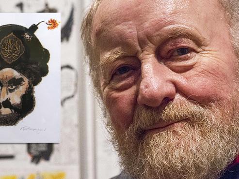 Kurt Westergaard, le dessinateur danois auteur d'une célèbre caricature du prophète Mahomet, est décédé