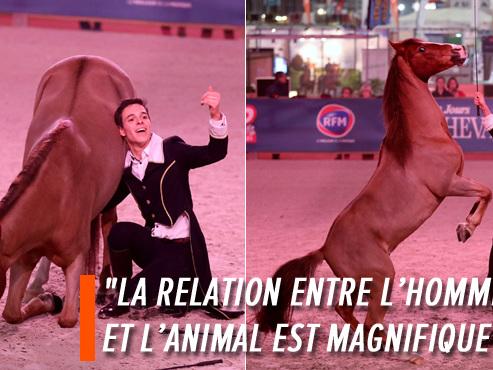 """Le Ramillois Quentin Vaerman, star montante de l'art équestre: """"Les chevaux nous poussent tout le temps à nous remettre en question"""" (vidéo)"""