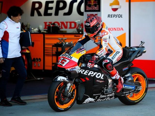 MotoGP-Tests Jerez: Marquez souffre d'une subluxation de l'épaule