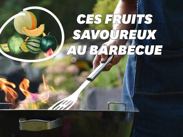 Au barbecue, les fruits grillent aussi bien que les légumes