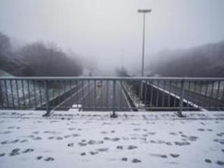 Météo - Routes glissantes avant une semaine froide, venteuse et pluvieuse, voire sous la neige