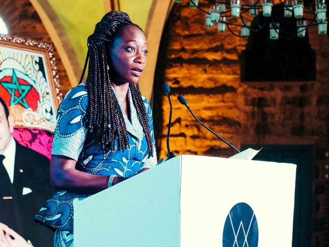 """Entre militantisme et """"sisterhood"""", Hafsat Abiola en marche pour les femmes entrepreneures africaines"""