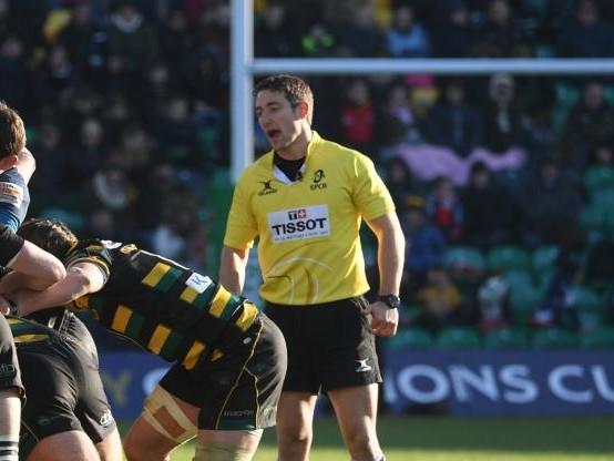 Rugby - CE - Coupe d'Europe: changement d'arbitre pour Clermont-Saracens