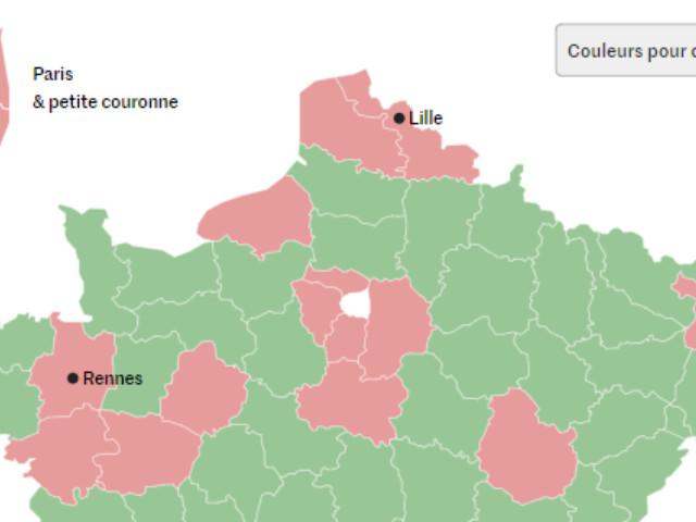 Coronavirus : quels sont les 42 départements classés en «zone de circulation active» du virus ?