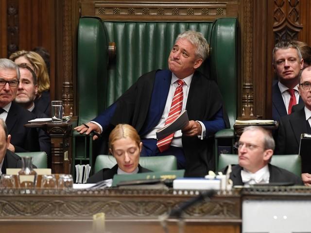 Le retentissant président de la Chambre des communes britannique, John Bercow, tire sa révérence