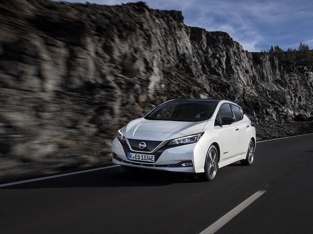 Première bougie pour la nouvelle Nissan LEAF