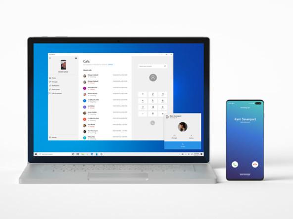 Windows 10 : comment appeler avec l'application Votre Téléphone de Microsoft ?