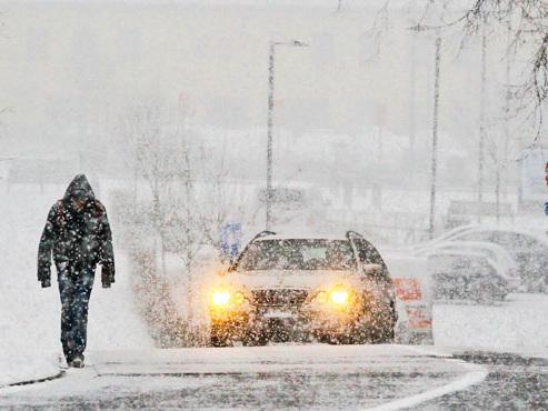 Prévisions météo: de la neige ce week-end et une masse d'air maritime d'origine polaire dès mardi