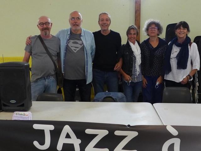 Gaël Horellou avec Jazz au caveau à Caunes-Minervois