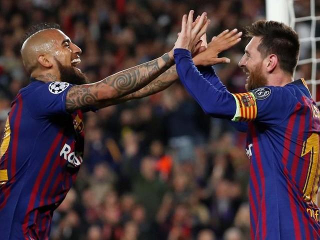 Ligue des champions: triomphe du FC Barcelone, un Messi d'exception