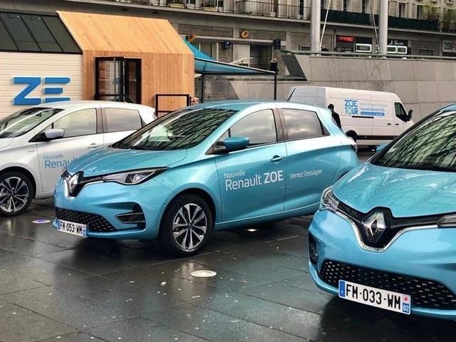 Renault : la citadine électrique ZOE entame son tour de France