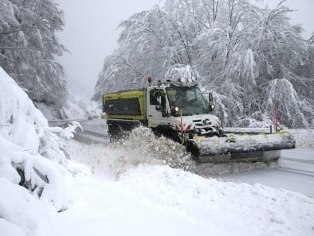 Les Pyrénées-Orientales sous de fortes pluies ou la neige