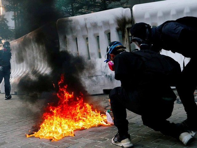A Hong Kong, les manifestants ne cèdent pas
