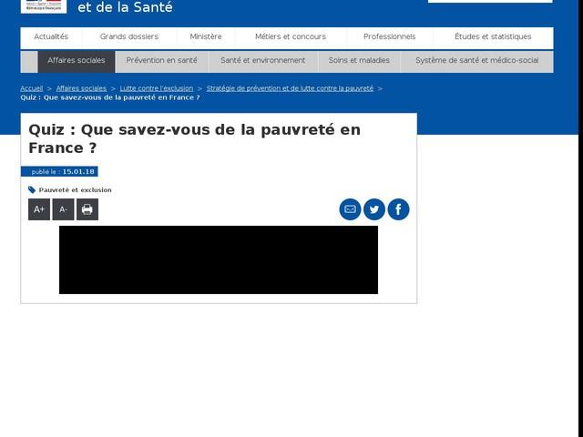 Quiz : Que savez-vous de la pauvreté en France ?