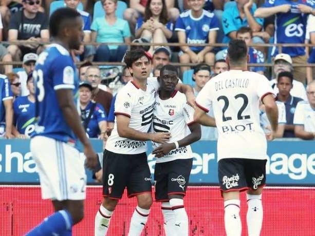 Ligue 1 : le Stade Rennais va gagner à Strasbourg et prend la tête