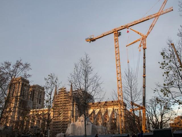 Notre-Dame entre dans une phase critique de sa reconstruction