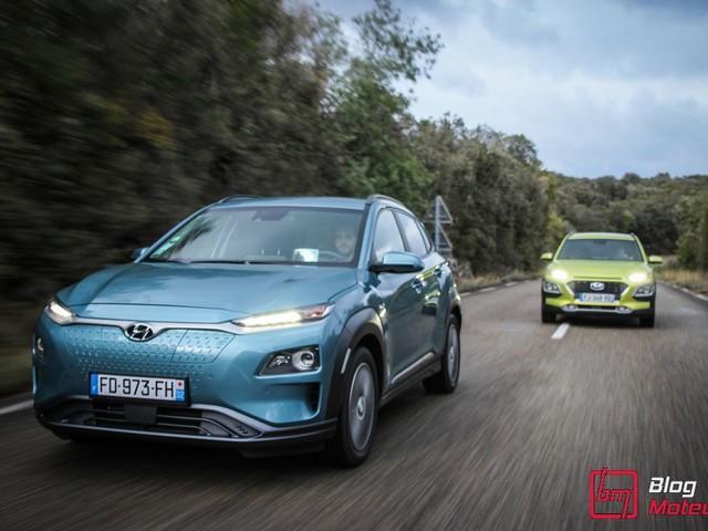 Essai : Hyundai Kona Electric et Hybrid : Quelle version choisir ?