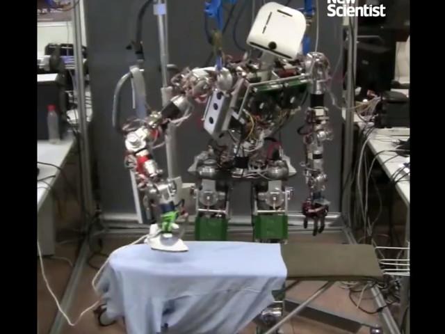 Avec ce robot, dites adieu aux corvées de repassage (enfin presque)