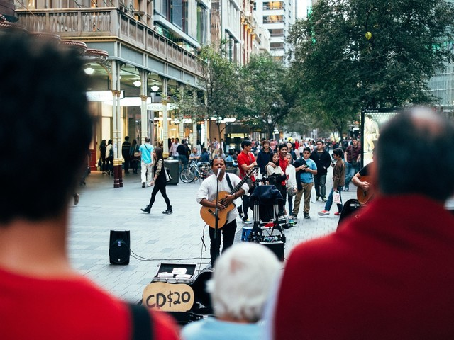 À Londres, le paiement sans contact s'invite même chez les artistes de rue