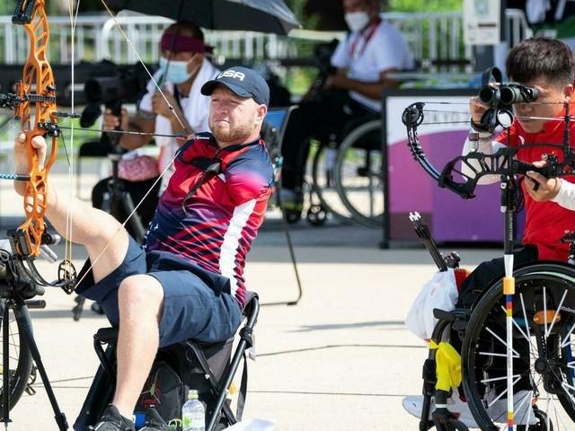 Paralympiques-2020: Matt Stutzman, bon pied, bon oeil
