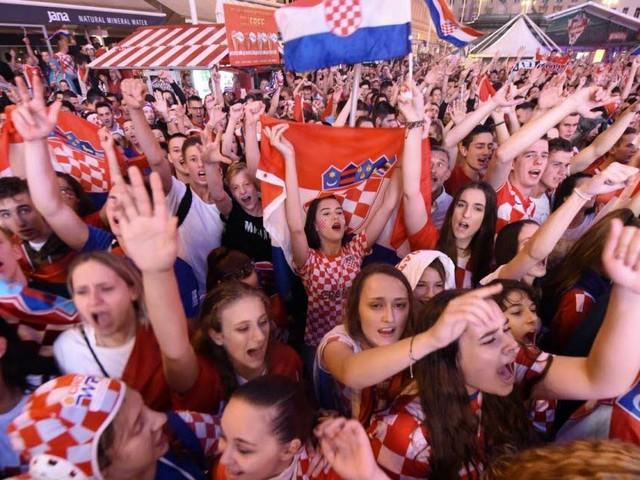 Zagreb s'échauffe déjà en attendant la finale de la Coupe du monde