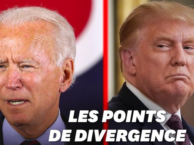 Débat Trump-Biden: 5 sujets de fond (hors covid) qui les opposent