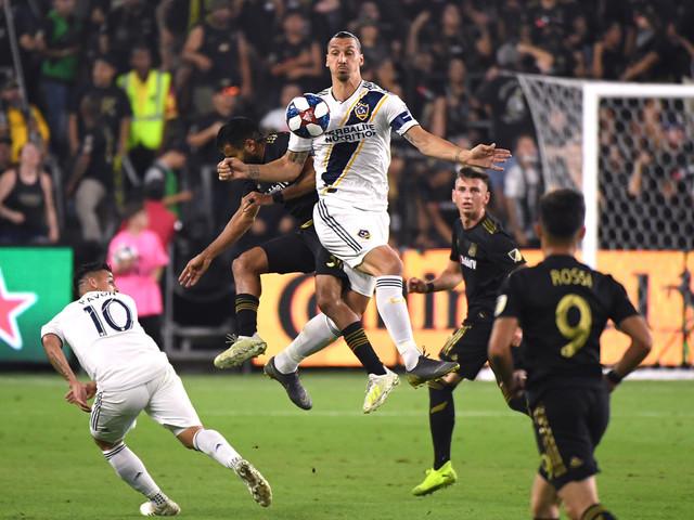 MLS: Ibrahimovic annonce son départ du L.A. Galaxy