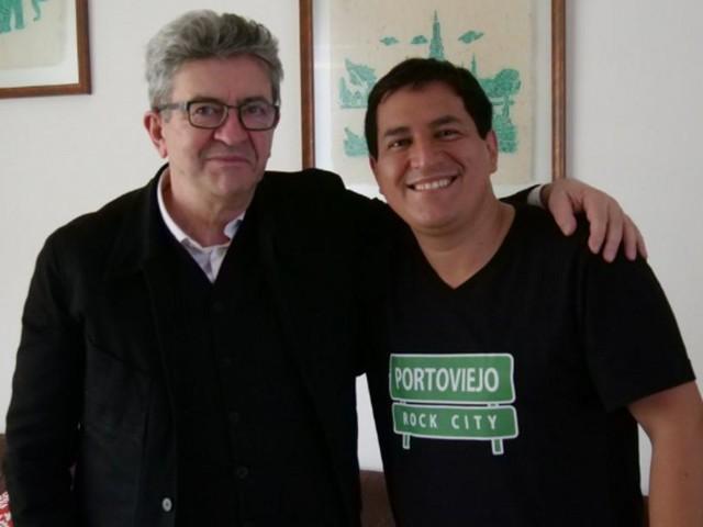 En Équateur, Jean-Luc Mélenchon adresse un message très politique à la gauche française