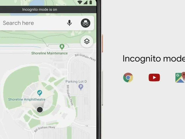 Google Maps aura bientôt son mode de navigation privée