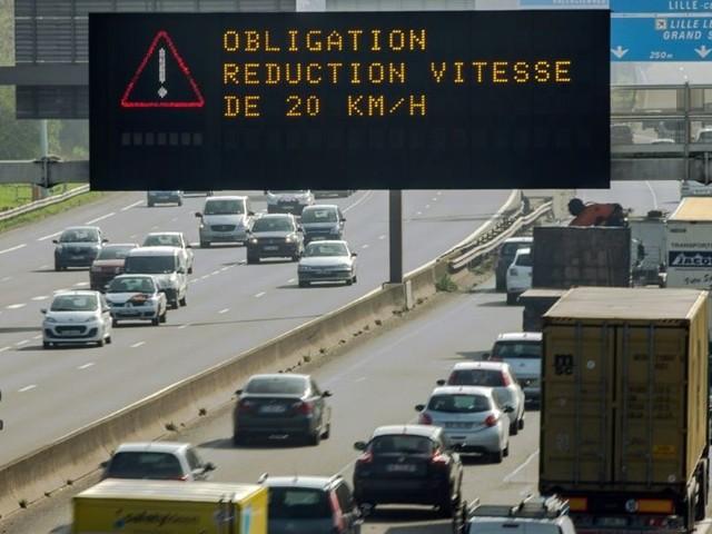 Pollution: circulation différenciée mise en place lundi dans la métropole lilloise
