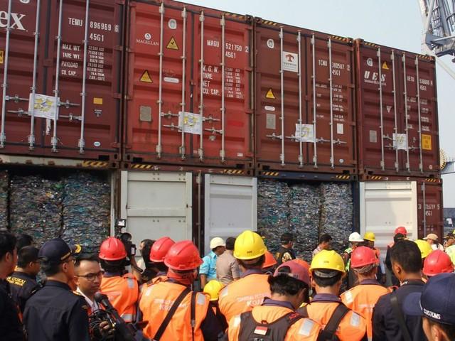 L'Indonésie renvoie 547 conteneurs de déchets vers les pays développés