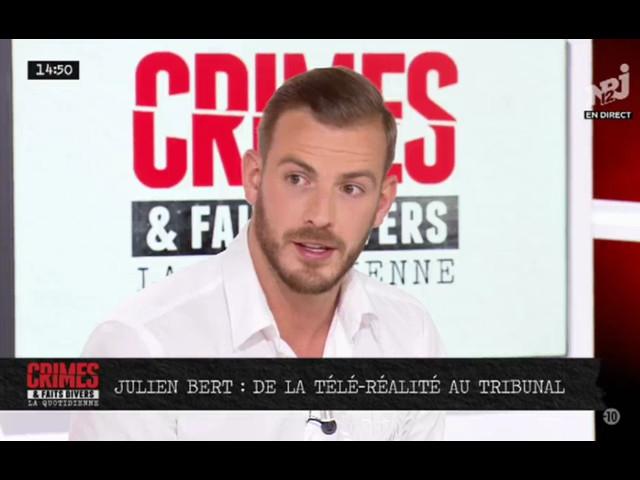 """Julien Bert, son passage en prison : """"Je n'ai pas les mots..."""""""